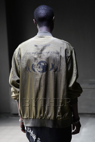 ByTheRUniverse Print Flight Jacket