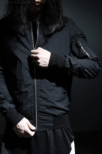 ByTheRDark Cotton MA-1 Flight Jacket