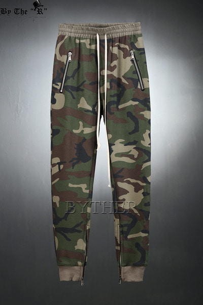 ByTheRAnkle Zipper Training Jogger Pants